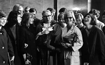 Fahrt nach England im August 1965