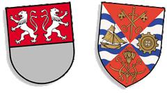 Wappen von Witten und von Barking & Dagenham