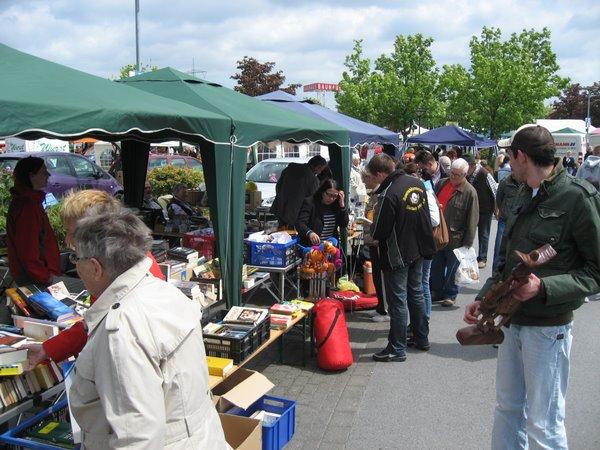 Partnerschaftsflohmarkt 2011