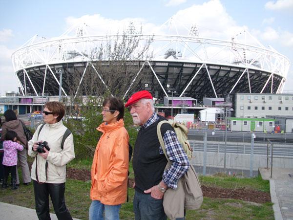 Besuch des Olympia-Geländes