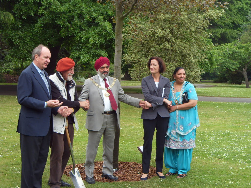 Mayor & Mayoress of Barking & Dagenham with Mayor of Witten, Klaus Lohmann and Rolf Ostermann