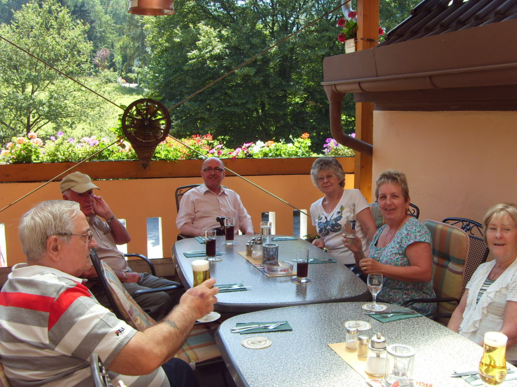Lunch stop during Wine Tasting Trip