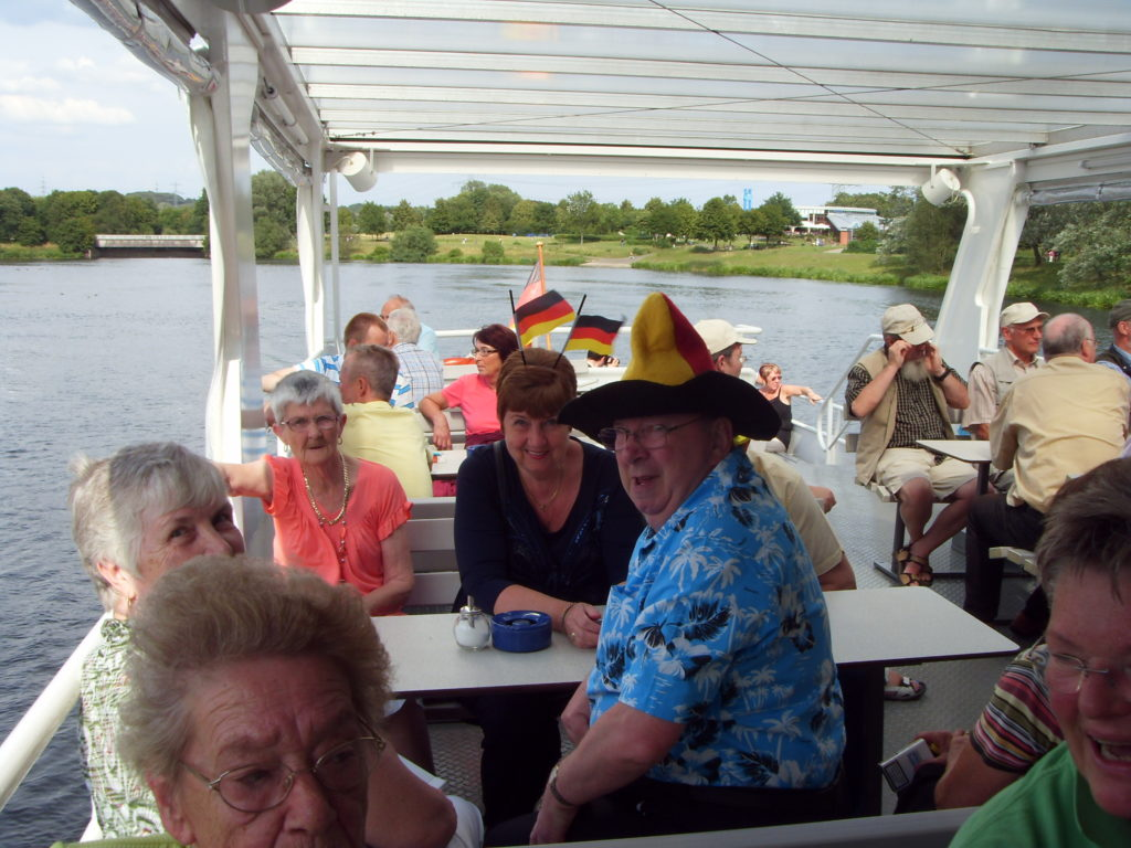 Boat trip on Ruhr